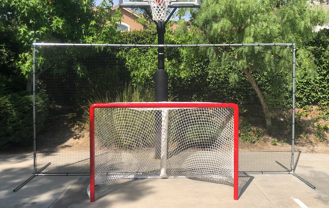 Ultimate Hockey Backstop (14 feet wide x 7 feet tall) (free U.S. shipping)