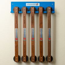 Wall Mounted Hockey Stick and Silky Mitts Rack