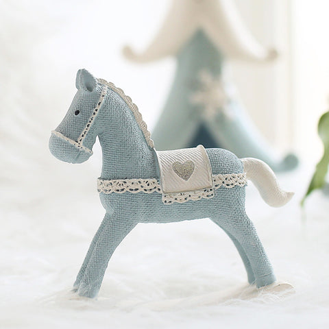 Resin Horse Figurines Home Decor Craft - Mr Mrs Home
