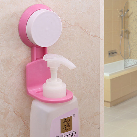 Bottle Holder Wall Mounted Stand Suction Cup - Mr Mrs Home