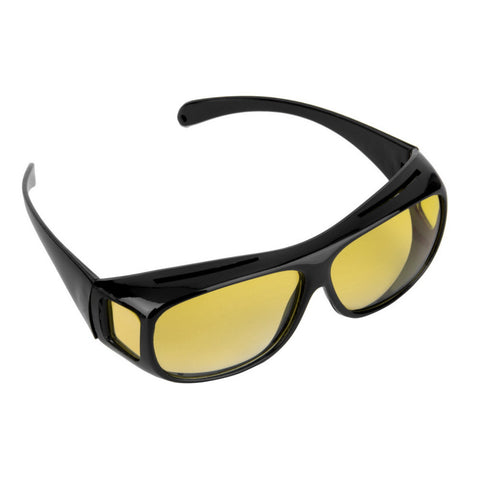 HQ Night Driving Glasses Anti Glare Vision Driver Safety Sunglasses Classic UV 400 - Mr Mrs Home