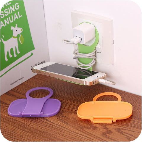 Foldable Cell Phone Charging Rack Holder - Mr Mrs Home