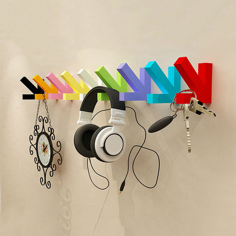Colorful Creative Arrow Wall Hook Hanger - Mr Mrs Home