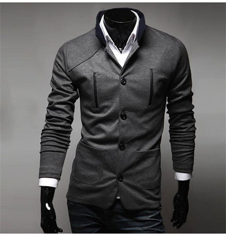 Men Casual Slim Clothing Suit/Blazer - Mr Mrs Home