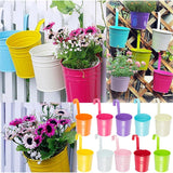 10pcs Garden Metal Iron Hanging Baskets - Mr Mrs Home