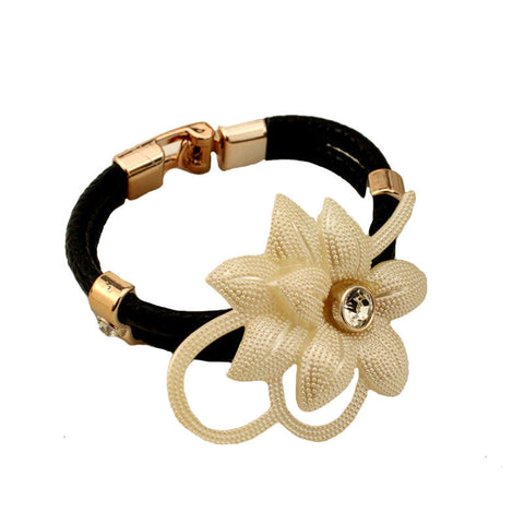 Flower Decorated Bracelet - Mr Mrs Home