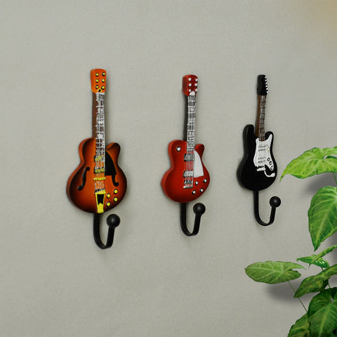 Guitar Wall Door Hanger Hooks - Mr Mrs Home