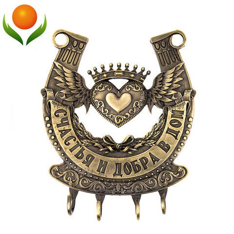 "Vintage hook Screw fixation,Wall Door Hook Hanger. living room & Kitchen vintage hook. "" happiness & good"" housekeeper. - Mr Mrs Home"
