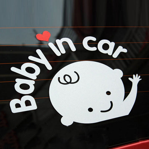 Baby on Board Sticker - Mr Mrs Home