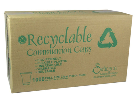 "Communion Cup Recyclable/Reuseable 1 3/8"" (Pack of 1000)"
