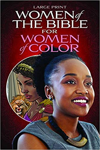 Women of the Bible for Women of Color - Large Print