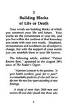 Chapter 1 - Building Blocks of Life or Death - page 1