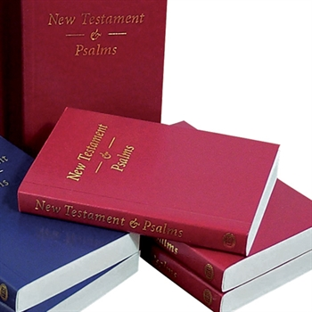 KJV Pocket Bible:  New Testament & Psalms Red Softcover