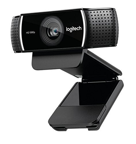 Logitech C922x Pro Stream Webcam - 1080p HD Camera for Streaming and Recording at 60 FPS - Background Replacement Technology