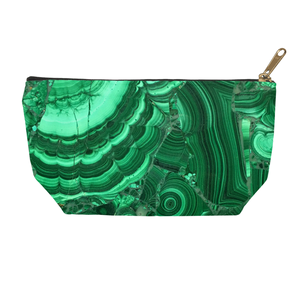 Malachite Accessory Pouch - Crystals Are Cool