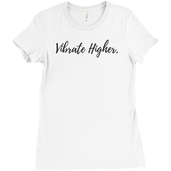 Vibrate Higher T-Shirt - Crystals Are Cool
