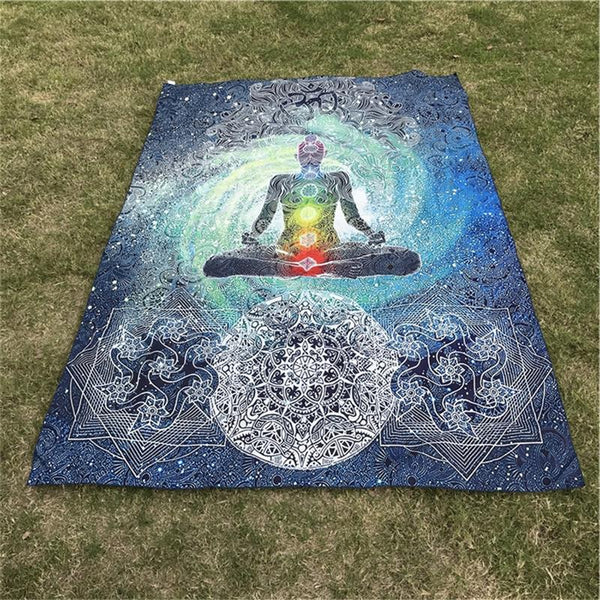 Inner Healing Meditation Mat - Crystals Are Cool