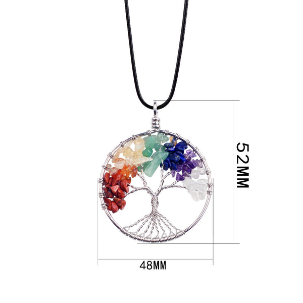 Tree Of Life Necklace - Crystals Are Cool