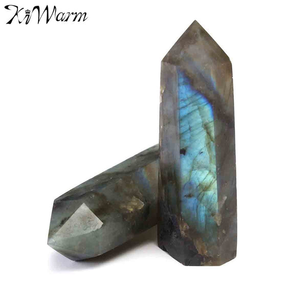 2-Piece Labradorite Wands - Crystals Are Cool