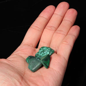 Malachite & Chrysocolla Tumbled Stones - Crystals Are Cool