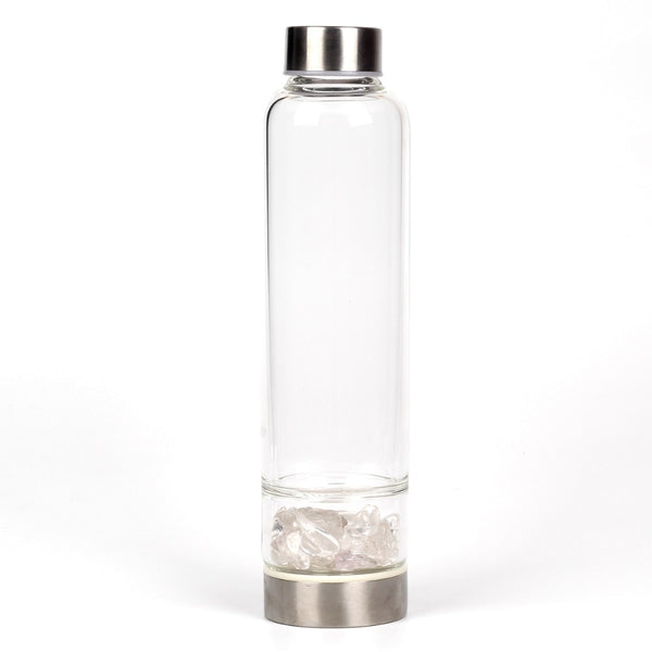 Crystal Water Bottle - Tumble Stones - Official - Crystals Are Cool