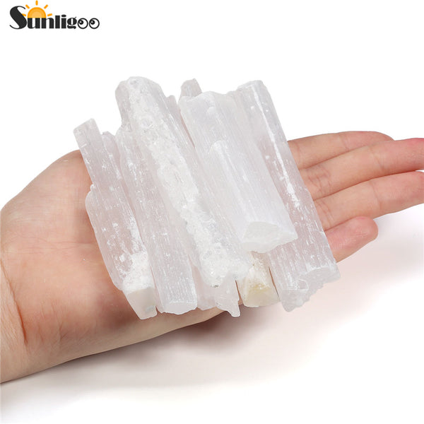 7 pc Meditation Kit with Selenite Wand - Crystals Are Cool
