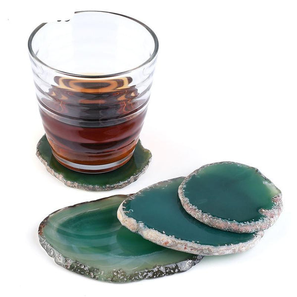 Agate Crystal Coasters - Crystals Are Cool
