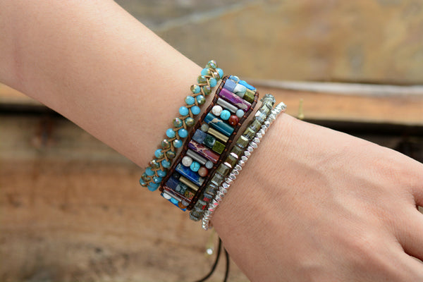 Bohemian Crystal Bracelet - Crystals Are Cool