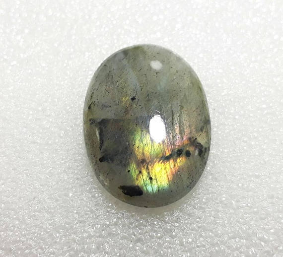 Flashy Oval Labradorite Palm Stone - Crystals Are Cool