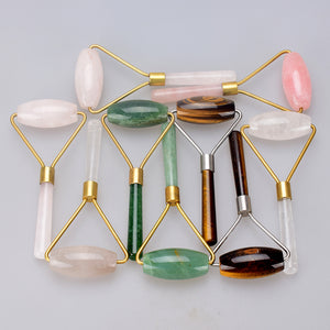 Crystal Facial Massage Rollers - Crystals Are Cool
