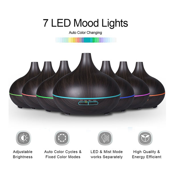 Aromatherapy Essential Oil Diffuser - Crystals Are Cool