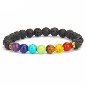 Chakra Balancing Bracelet - Crystals Are Cool