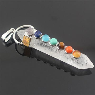 Quartz Chakra Pendant - Crystals Are Cool