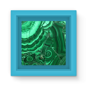 Malachite Magnet Frame - Crystals Are Cool