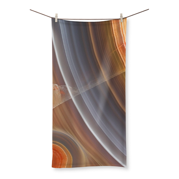 Agate Beach Towel - Crystals Are Cool