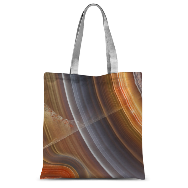 Agate Tote Bag - Crystals Are Cool