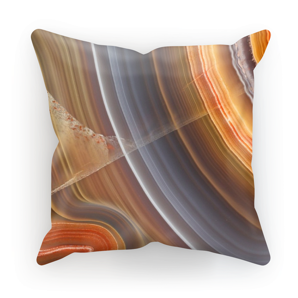 Agate Pillow - Crystals Are Cool