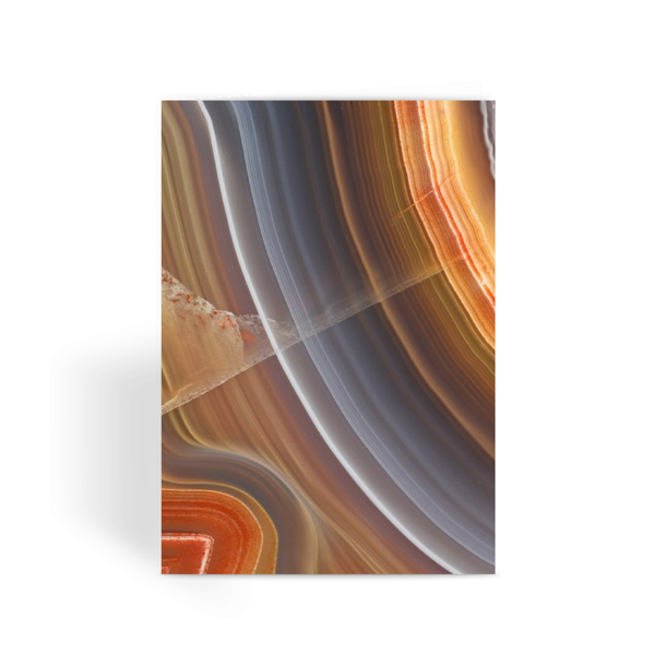 Agate Greeting Card - Crystals Are Cool