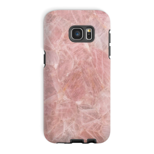 Rose Quartz Phone Case - Crystals Are Cool