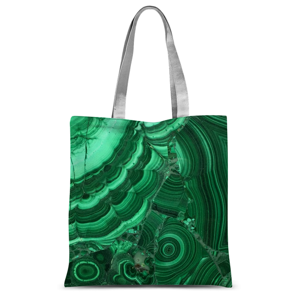 Malachite Tote Bag - Crystals Are Cool