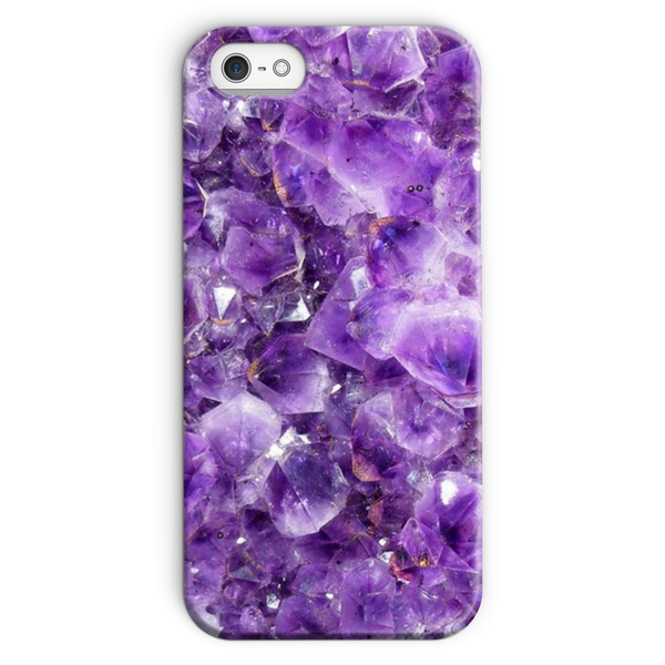 Amethyst Phone Case - Crystals Are Cool