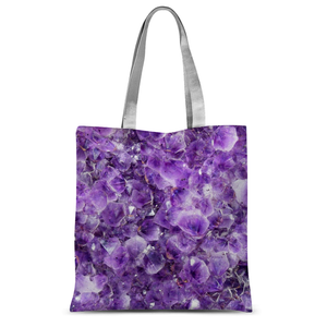 Amethyst Tote Bag - Crystals Are Cool