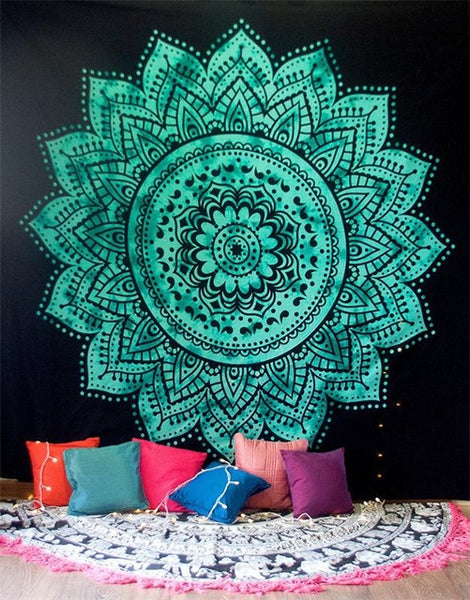 Mandala Tapestries - Crystals Are Cool