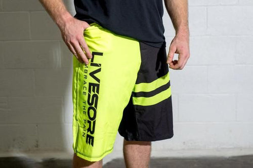 Yellow Jacket WOD Shorts