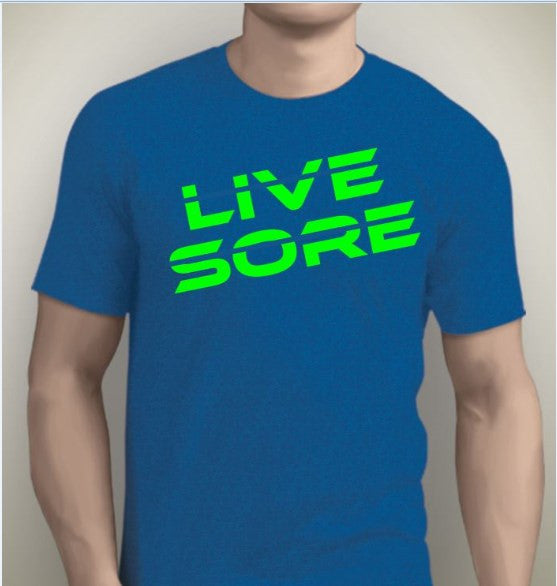 LiveSore Strike Through Tshirt