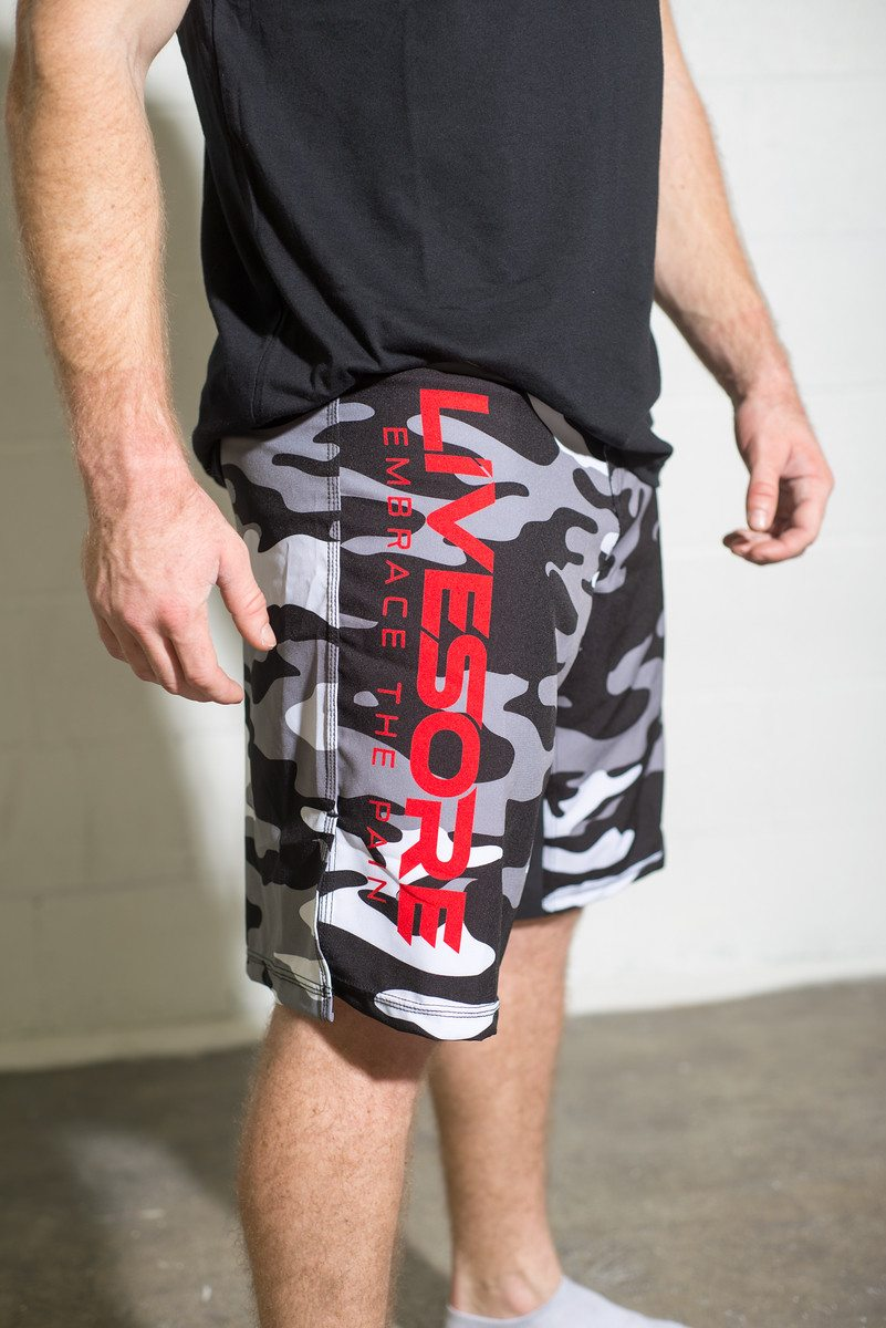 Arctic Camo Men's WOD Shorts