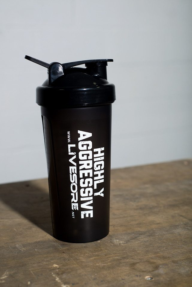 Highly Aggressive Shaker Bottle