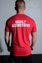 Highly Aggressive Men's Shirt - Red