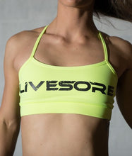 Neon Yellow WOD Bra