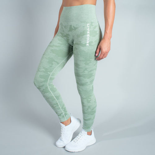 Fire Seamless Leggings - Camo